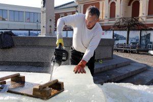 Ledinę uostamiesčio Teatro aikštę žadins jaunieji teatralai