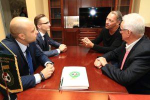 LFF su vokiečiais bendradarbiaus vystant masinį futbolą