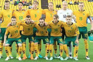 Lietuvos jaunimo futbolo rinktinę sustiprins legionieriai