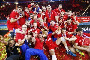 Rusijos tinklininkai 14-ą kartą tapo Europos čempionais