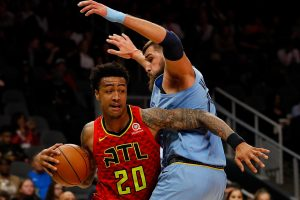 NBA: J. Valančiūnas sužaidė blankiausią savo mačą Memfyje