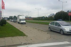 Apribos automobilių stovėjimą Dragūnų kvartale