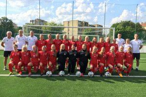 Baltijos futbolo taurės starte – Lietuvos moterų rinktinės lygiosios