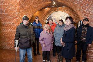 Nakvynės namų gyventojai lankė Lietuvos jūrų muziejų