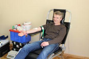 Savivaldybės darbuotojai dovanojo kraujo