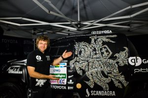 Renkama rekordinė Dakaro komanda