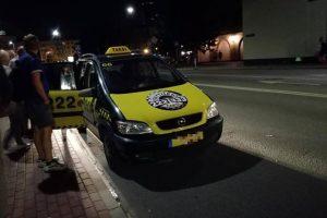 Taksistai Jūros šventės metu leidosi plėšikauti?