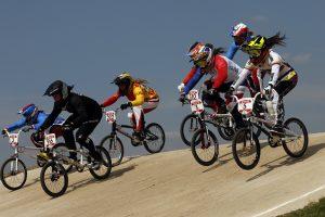V. Rimšaitė savaitgalį startavo mažųjų dviračių kroso reitingo varžybose