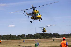 Ukrainoje nukrito karinis sraigtasparnis, penki žmonės žuvo