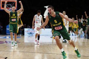 Lietuvos krepšinio rinktinė žygį Europos čempionate pradės Izraelyje