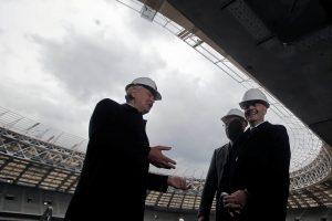 Teigiamai įvertintas Maskvos pasiruošimas pasaulio futbolo čempionatui