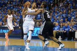 """""""Thunder"""" pateko į NBA čempionato Vakarų konferencijos finalą"""