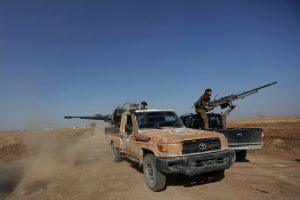 Turkija vėl smogė Sirijos kurdų pajėgoms