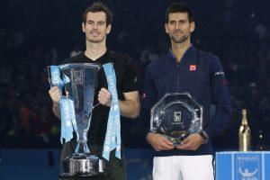 Įspūdinga sezono pabaiga: A. Murray finale nepabūgo ir N. Džokovičiaus