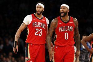 "D. Cousinso vedami ""Pelicans"" nugalėjo ""Bulls"""