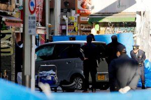 Tokijuje automobiliui įsirėžus į pėsčiuosius sužeisti 9 žmonės