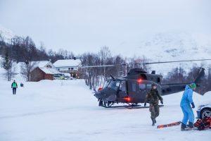 Norvegijoje per laviną dingę 4 slidininkai veikiausiai mirė
