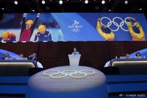 2022 metų žiemos olimpinės žaidynės vyks Pekine