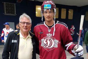 Įvertinimas – ledo ritulininkas N. Ališauskas žais KHL lygoje