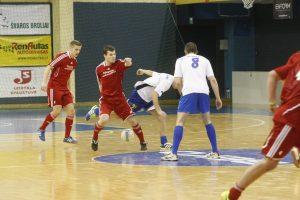 Uostamiesčio salės futbolo čempionate – pernykštis scenarijus