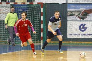 Klaipėdos salės futbolo čempionate antausiai skelti stipresnėms komandoms