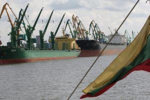 Klaipėdos uosto krovos apyvarta augo