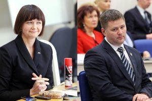 Etikos komisija liko be nario
