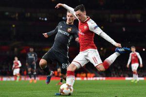 """Europos lyga: Londono """"Arsenal"""" sutriuškino Maskvos CSKA ekipą"""