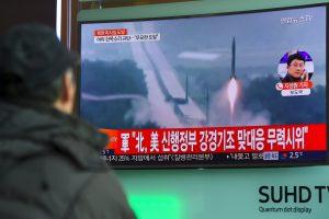Šiaurės Korėja paleido balistinę raketą (D. Trumpo komentaras)