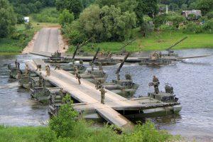 NATO pratybos prieš Rusijos sienų kelia susirūpinimą Maskvai