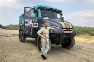 Lietuvis vėl užsikrėtė Dakaro virusu – ketina vairuoti sunkvežimį