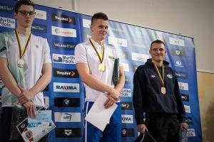 Anykščiuose prasidėjo Lietuvos plaukimo čempionatas 25 m baseine
