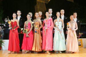 Lietuvos šokėjų medaliai tarptautinėse varžybose Kanadoje ir Austrijoje