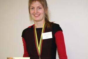 Migracijos valdybos darbuotoja – Lietuvos sambo čempionė