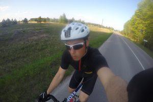 Neringiškis mins dviračiu aplink Lietuvą
