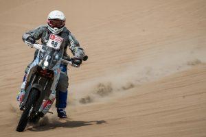 Motociklininko B. Bardausko komanda įstrigo Bolivijoje