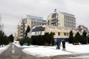 Palangoje ligonis žuvo iškritęs iš ligoninės balkono