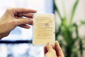 Ar galima pasilikti nebegaliojantį vairuotojo pažymėjimą kaip suvenyrą?