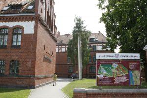 Klaipėdos universitetas skaičiuoja būsimus studentus