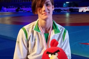 D. Domikaitytė – tarptautinio imtynių turnyro Baltarusijoje nugalėtoja