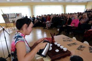 Gimnazijoje – kinų ir lietuvių draugystė