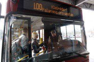 Dėl autobuso – derybos