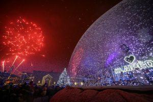 Naujametę naktį Teatro aikštei – išskirtinis dėmesys