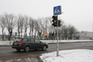 Šviesoforas eismą reguliuos dažniau