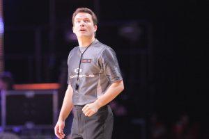 Krepšinio arbitras antrus metus iš eilės sulaukė FIBA pripažinimo