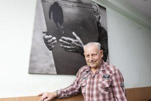 Klaipėdos benamio nuotraukos – užsienio galerijose