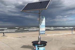 Paplūdimių prižiūrėtojams – netikėta dovana