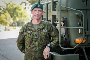 Lietuvos kariuomenėje – ketvirtį amžiaus