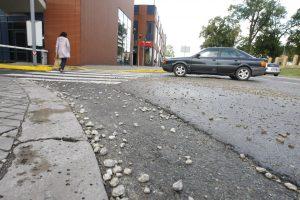 Po remonto – pavojai gatvėje