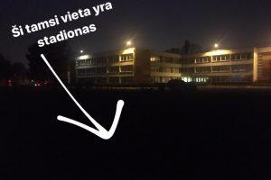 Mokyklai šviesa – per daug prašmatnu